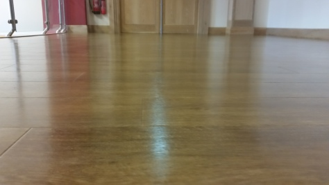 Amtico Floor Cleaned & Polished