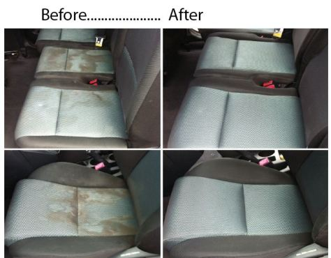 car before + after